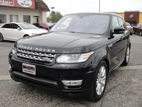 2016 Land Rover Range Rover Sport for sale at Don Reeves Auto Center in Farmington NM