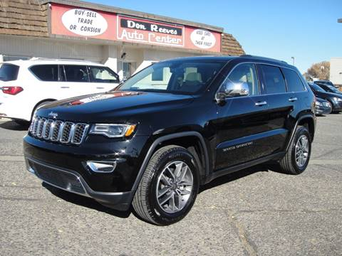 2019 Jeep Grand Cherokee for sale at Don Reeves Auto Center in Farmington NM