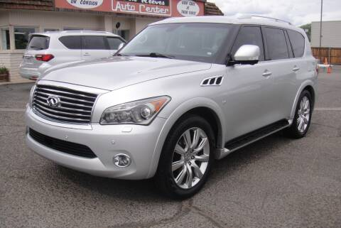 2014 Infiniti QX80 for sale at Don Reeves Auto Center in Farmington NM