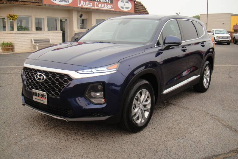 2020 Hyundai Santa Fe for sale at Don Reeves Auto Center in Farmington NM