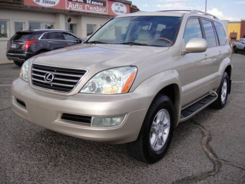 2006 Lexus GX 470 for sale at Don Reeves Auto Center in Farmington NM