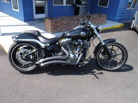 2014 Harley-Davidson FXSB 103 for sale at Total Eclipse Auto Sales & Service in Red Bud IL
