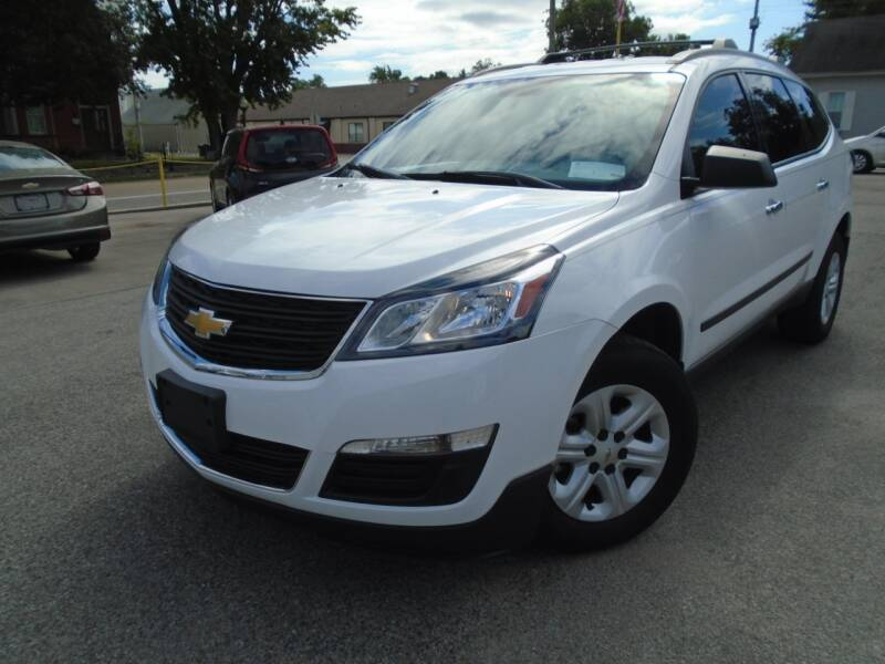 2017 Chevrolet Traverse for sale at Total Eclipse Auto Sales & Service in Red Bud IL