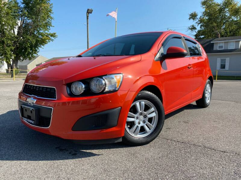 2013 Chevrolet Sonic for sale at Total Eclipse Auto Sales & Service in Red Bud IL