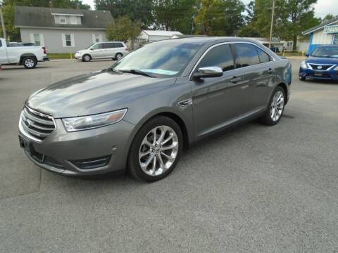 2013 Ford Taurus for sale at Total Eclipse Auto Sales & Service in Red Bud IL