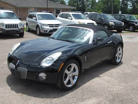 FEATURED VEHICLE. 2007 Pontiac Solstice For Sale In Beaumont, TX