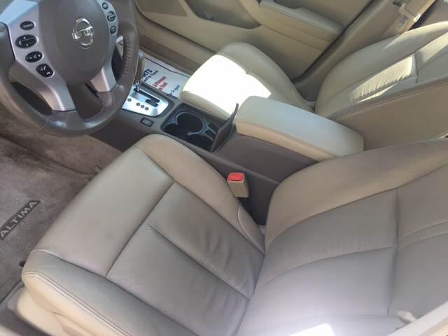 2009 Nissan Altima 3.5 SL 4dr Sedan - Agawam MA