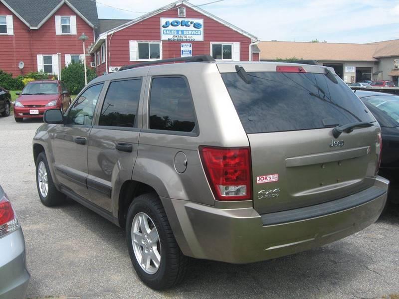 2006 Jeep Grand Cherokee Laredo 4dr SUV 4WD - Hudson NH