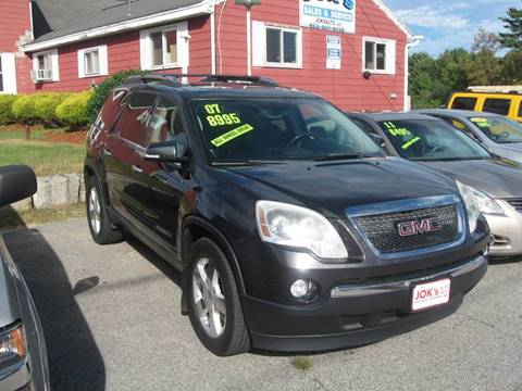 2007 GMC Acadia for sale in Hudson, NH