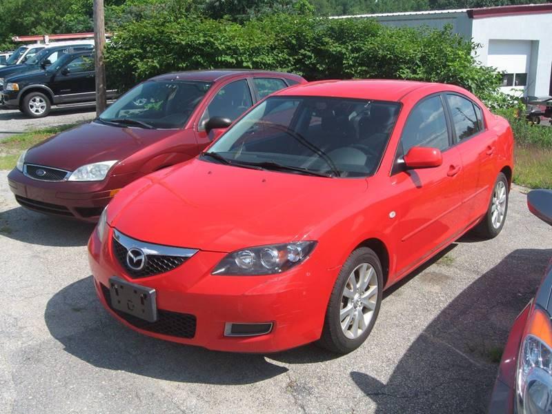 2008 Mazda MAZDA3 I Sport 4dr Sedan 4A   Hudson NH