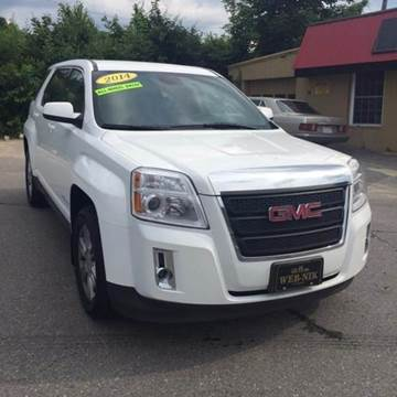 2014 GMC Terrain for sale at WEB NIK Motors in Fitchburg MA