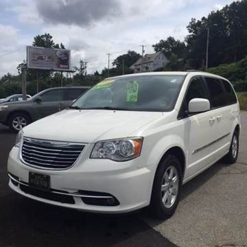 2012 Chrysler Town and Country for sale at WEB NIK Motors in Fitchburg MA