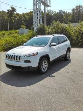2014 Jeep Cherokee for sale at WEB NIK Motors in Fitchburg MA