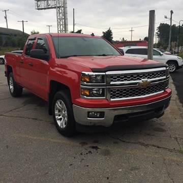 2014 Chevrolet Silverado 1500 for sale at WEB NIK Motors in Fitchburg MA