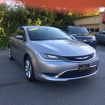 2015 Chrysler 200 for sale in Fitchburg, MA