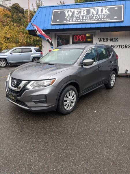 2017 Nissan Rogue AWD S 4dr Crossover - Fitchburg MA