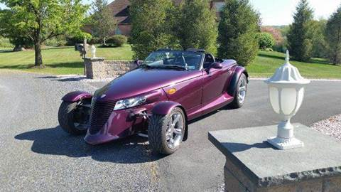 1999 Plymouth Prowler for sale at Berk Motor Co in Whitehall PA