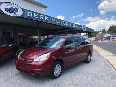 2005 Toyota Sienna for sale at Berk Motor Co in Whitehall PA