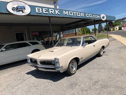 1966 Pontiac GTO for sale in Whitehall, PA
