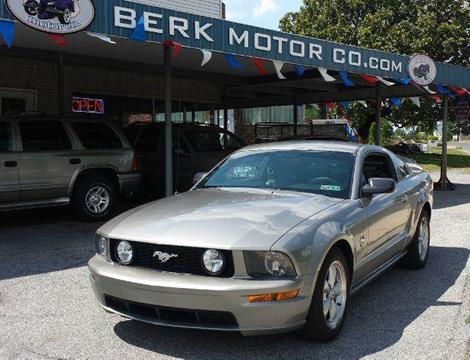 2009 Ford Mustang for sale at Berk Motor Co in Whitehall PA