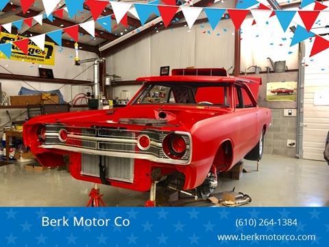 1968 Dodge Dart for sale at Berk Motor Co in Whitehall PA