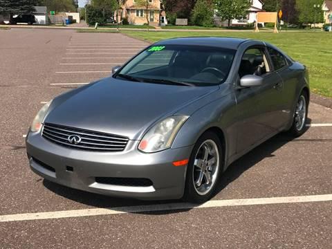 2003 Infiniti G35 for sale at 1st Avenue Auto Sales in Cambridge MN