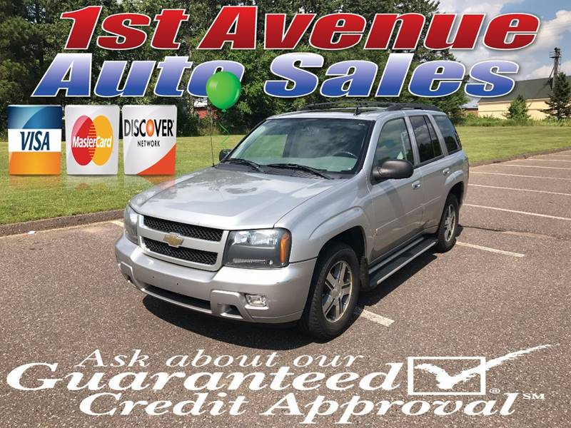 2008 Chevrolet TrailBlazer for sale at 1st Avenue Auto Sales in Cambridge MN