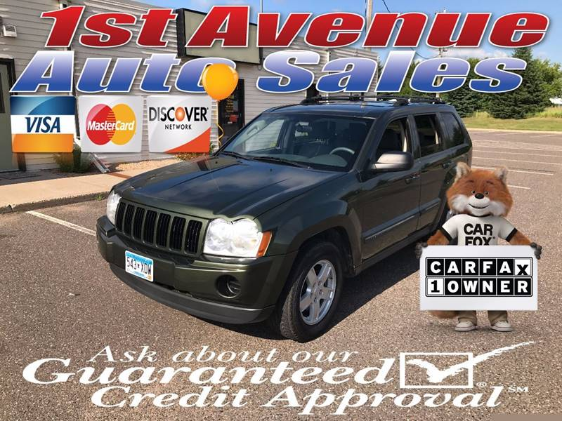 2007 Jeep Grand Cherokee for sale at 1st Avenue Auto Sales in Cambridge MN