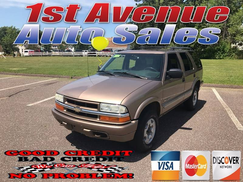 2004 Chevrolet Blazer for sale at 1st Avenue Auto Sales in Cambridge MN