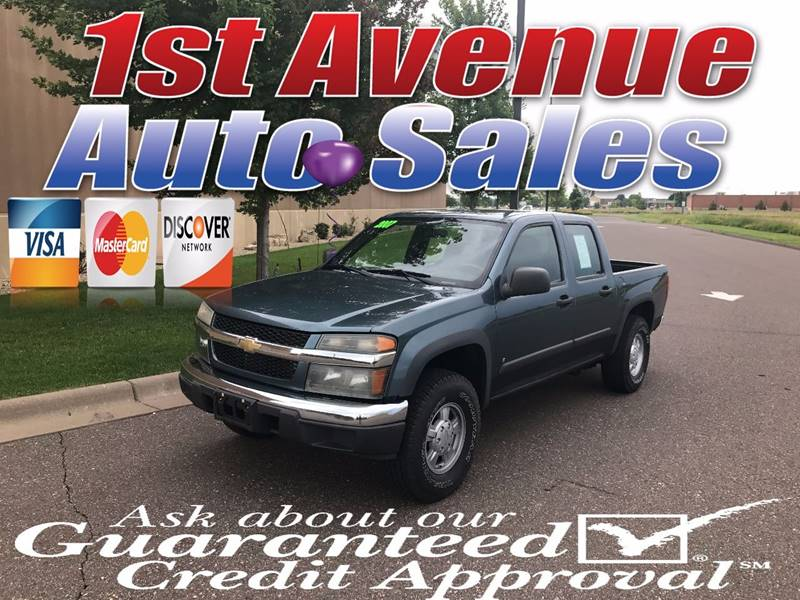 2007 Chevrolet Colorado for sale at 1st Avenue Auto Sales in Cambridge MN
