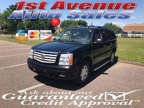 2006 Cadillac Escalade for sale at 1st Avenue Auto Sales in Cambridge MN