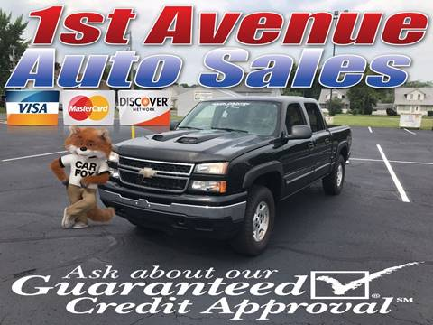 2006 Chevrolet Silverado 1500 for sale at 1st Avenue Auto Sales in Cambridge MN