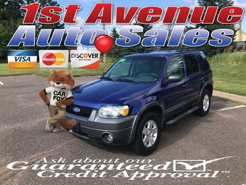 2006 Ford Escape for sale at 1st Avenue Auto Sales in Cambridge MN