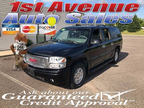 2002 GMC Yukon XL for sale at 1st Avenue Auto Sales in Cambridge MN