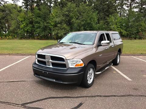 2010 Dodge Ram Pickup 1500 for sale at 1st Avenue Auto Sales in Cambridge MN