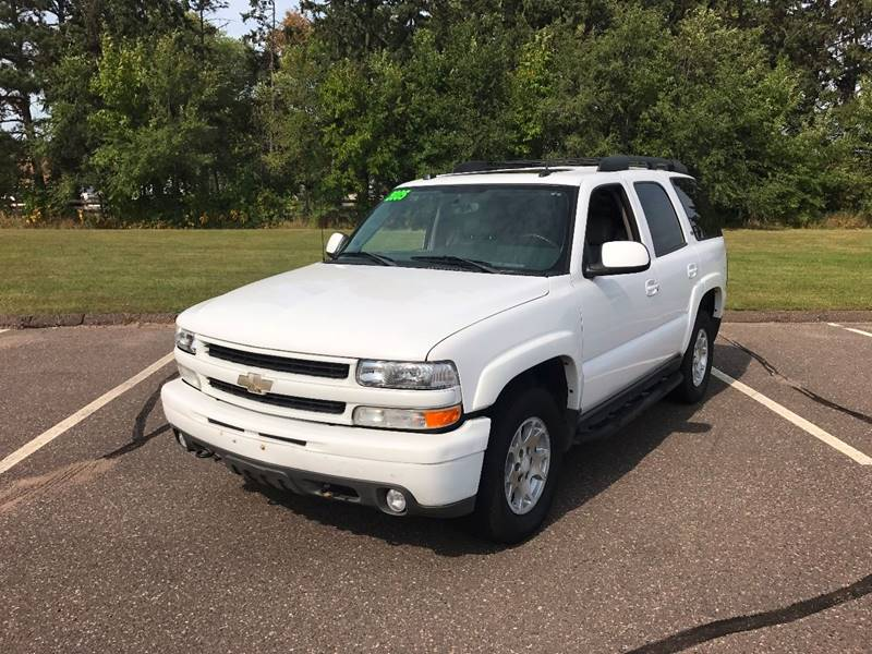 2005 Chevrolet Tahoe for sale at 1st Avenue Auto Sales in Cambridge MN