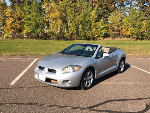 2007 Mitsubishi Eclipse Spyder for sale in Cambridge, MN