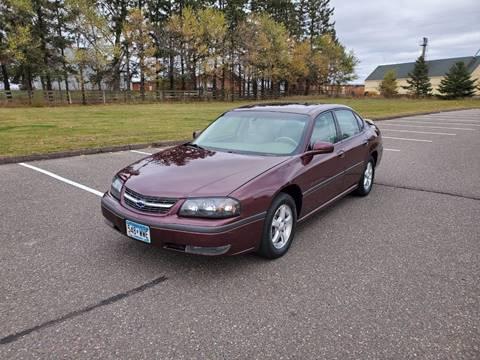 2003 Chevrolet Impala for sale in Cambridge, MN