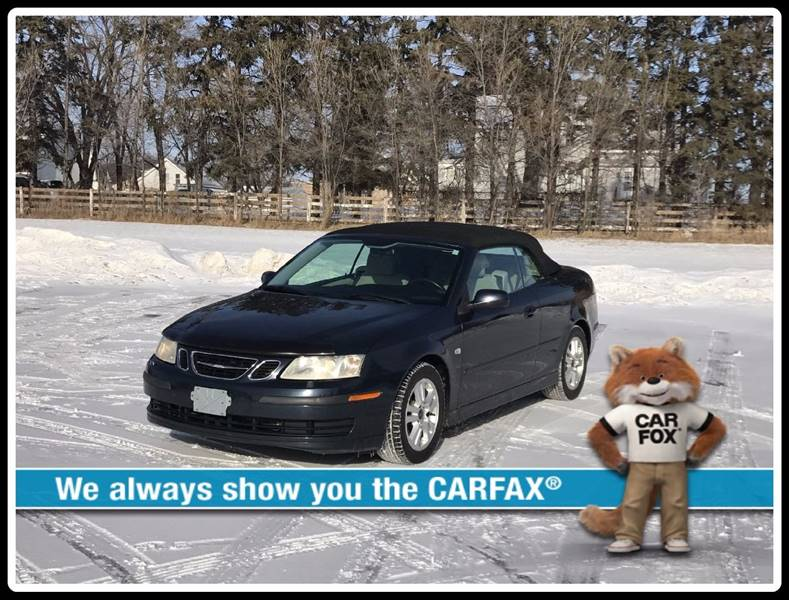 2006 Saab 9-3 for sale at 1st Avenue Auto Sales in Cambridge MN
