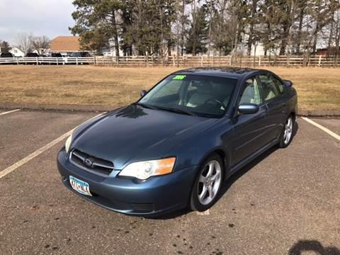 2006 Subaru Legacy for sale at 1st Avenue Auto Sales in Cambridge MN