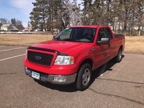 2005 Ford F-150 for sale at 1st Avenue Auto Sales in Cambridge MN
