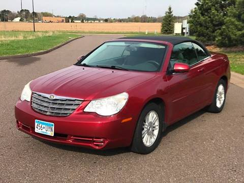 2008 Chrysler Sebring for sale at 1st Avenue Auto Sales in Cambridge MN