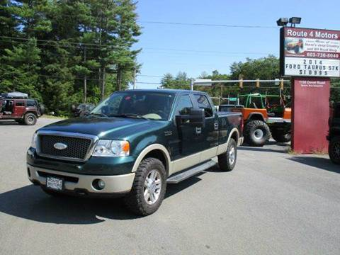 2007 Ford F-150 for sale at Route 4 Motors INC in Epsom NH