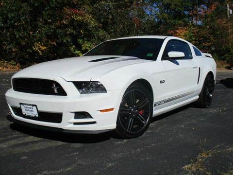 2014 Ford Mustang for sale at Route 4 Motors INC in Epsom NH