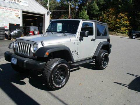 2007 Jeep Wrangler for sale at Route 4 Motors INC in Epsom NH