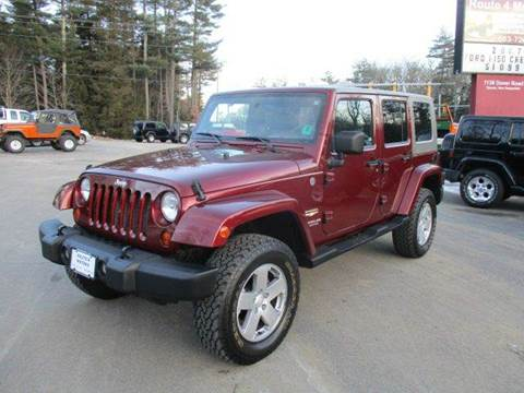 2007 Jeep Wrangler Unlimited for sale at Route 4 Motors INC in Epsom NH
