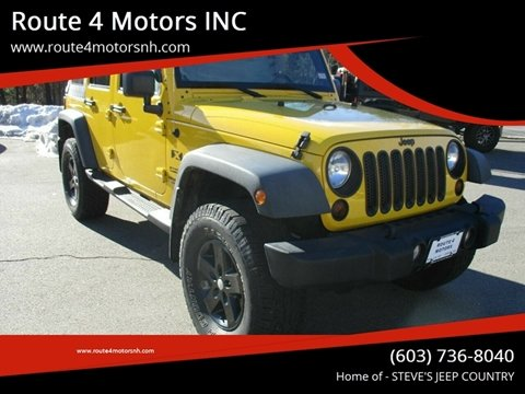 2011 Jeep Wrangler Unlimited for sale in Epsom, NH