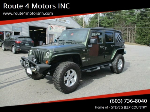 2007 Jeep Wrangler Unlimited for sale in Epsom, NH