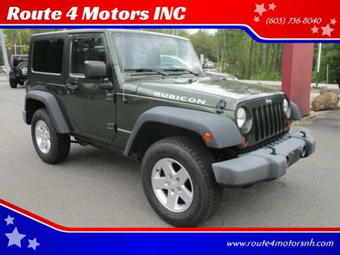 2008 Jeep Wrangler for sale in Epsom, NH