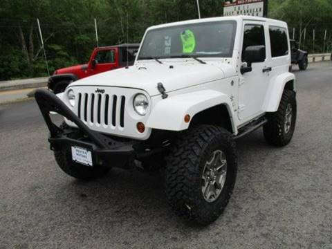2013 Jeep Wrangler for sale in Epsom, NH